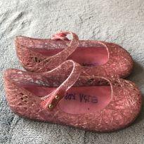 Mini Melissa rosa com glitter - 25 - Mini Melissa original