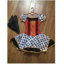 Fantasia vestido pirata - 2 anos - Sem marca
