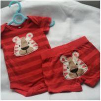 Body tigre - 0 a 3 meses - Baby Club