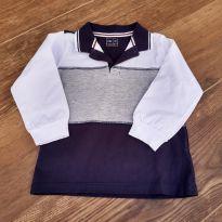 Camiseta tricolor - 2 anos - Poim