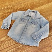 Camisa jeans - 3 anos - Plural kids
