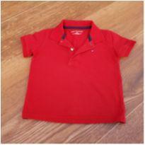 Pólo Tommy vermelha - 2 anos - Tommy Hilfiger