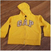 Moletom Gap amarelo - 2 anos - Baby Gap