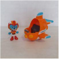 Figura e veículo Playskool Top Wing - Swift