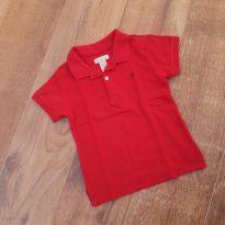 Camiseta Pólo Calvin Klein - 4 anos - Calvin Klein