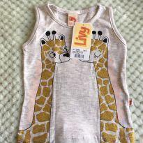 Blusinha Girafinhas Luminosas Livy - 3 anos - Livy