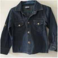 Camisa Jeans Clube do Doce tamanho G - 9 a 12 meses - Clube do Doce