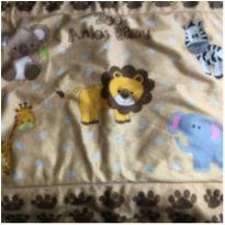 Tapete Zoo Anjos Baby com antiderrapante 90x60 -  - Anjos baby