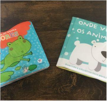 Kit 2 livros para Hora do Banho Cores e Onde Vivem os Animais - Sem faixa etaria - Ciranda Cultural, Todolivro , Parragon Books e Girassol