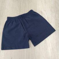 Shorts de bebê em tactel - 0 a 3 meses - Não informada