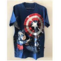 Camiseta Capitão América - 14 anos - Piticas