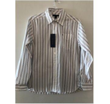 Camisa social listrada - 13 anos - Tommy Hilfiger