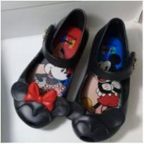 Mini Melissa Preta Minnie e Mickey Vintage - 20 - Mini Melissa original