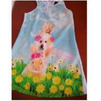 Vestido grife - 6 anos - Mon Sucré