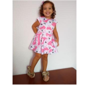 Vestido Lilica Ripilica - 18 a 24 meses - Lilica Ripilica e Lilica Ripilica Baby