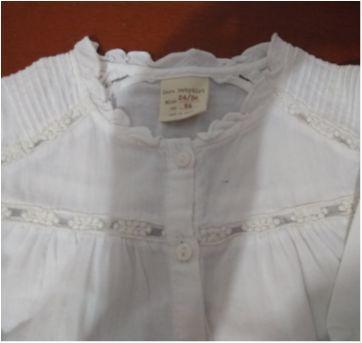 Camisa branca Zara - 24 a 36 meses - Zara