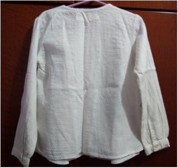 Camisa branca zara - 4 anos - Zara