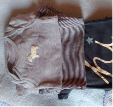 Kit 3 bodies Carter`s - 3 meses - Carter`s