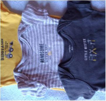 Kit bodies Carter`s - 6M - 3 a 6 meses - Carter`s