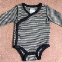 Body Baby GAP - Tam 0 a 03 m - 0 a 3 meses - Baby Gap