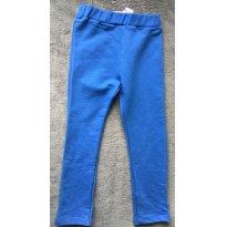 Calça de moletom azul - Tam 3 anos  PUC - 3 anos - PUC