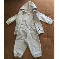 Conjunto moletom peluciado  azul claro bebê menino - TAM 06 a 09m - 6 a 9 meses - PUC