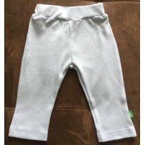 Calça Bebê Menino Em Algodão Com Aplique Bordado - Tam 03 a 06m - 3 a 6 meses - PUC