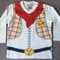 Camiseta Bebê Menino Em Algodão Com Divertida Estampa -Tam 09 a 12m - 9 a 12 meses - Puc Baby