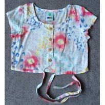 Blusinha em tecido PuC - Tam 02 - 2 anos - Puc Baby