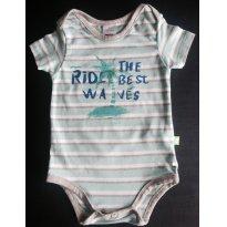 Body bebe menino - Tam 12 a 18m - 12 a 18 meses - PUC