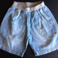 Short Jeans PUC - Tam 09 a 12m - 9 a 12 meses - Puc Baby