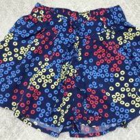 Short saia menina  - Tam 02 - 2 anos - Hering Kids