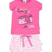 Pijama PUC bebe menina - Tam 09 a 12m - 9 a 12 meses - PUC