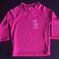 Blusa com proteção solar PUC - Tam 06 a 9m - 6 a 9 meses - PUC