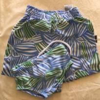 Conjunto praia menino azul - Tam 09 a 12m - 9 a 12 meses - PUC