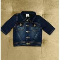 Jaqueta Jeans PUC - Tam 3 a 6m