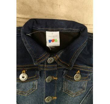 Jaqueta Jeans PUC - Tam 3 a 6m - 3 a 6 meses - PUC