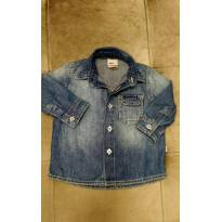 Camisa Jeans PUC Tam P (3 a 6m) - 3 a 6 meses - PUC