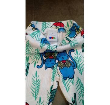Pijama PUC - Tam 6 a 9m - 6 a 9 meses - PUC