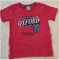 camiseta de malha PUC - tam 2 - 2 anos - PUC