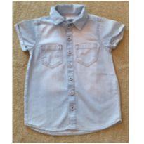Camisa Jeans Hering Kids Menina- TaM 2 ANOS - 2 anos - Hering Kids