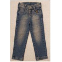 Calça Jeans Puc Menina- tamanho 2 anos - 2 anos - PUC