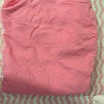 Lençol de elástico rosa - Sem faixa etaria - Não informada