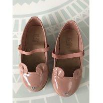 Sapatilha rosa verniz ZARA - 20 - Zara Baby