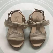 Sandália bege zara - 22 - Zara Baby