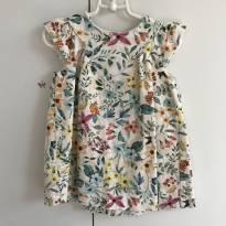 Vestido estampa Zara - 18 meses - Zara Baby