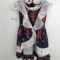 Vestido de festa junina Fábula - 2 anos - Fábula