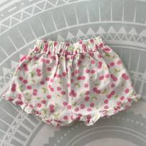 Short estam​pa cerejas - 6 a 9 meses - Cheeky