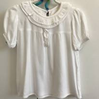 Blusa branca golinha - 2 anos - Ninini