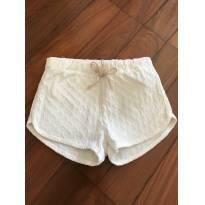 Short branco zara - 9 a 12 meses - Zara Baby